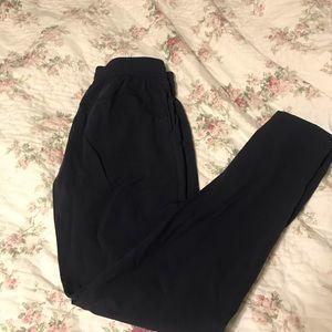 Black lululemon wind pants
